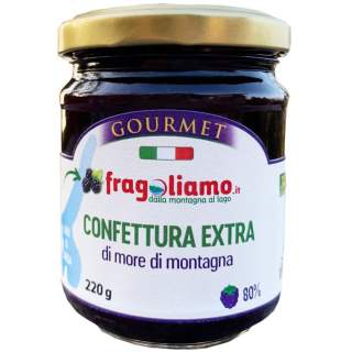 Mountain blackberry extra jam 80%